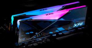 DDR4 RAM memory at 5000 Mhz