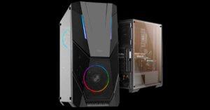 Nox Infinity Delta, ATX semi-tower PC case with ARGB
