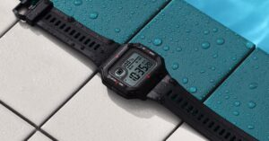 CASIO type retro smart watch price