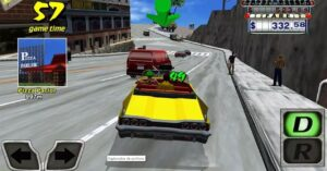 How to drift in Crazy Taxi using these techniques