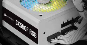 Corsair CX-F RGB Series, RGB illuminated power supplies