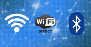 Differences between Wi-Fi, Wi-Fi Direct and Bluetooth