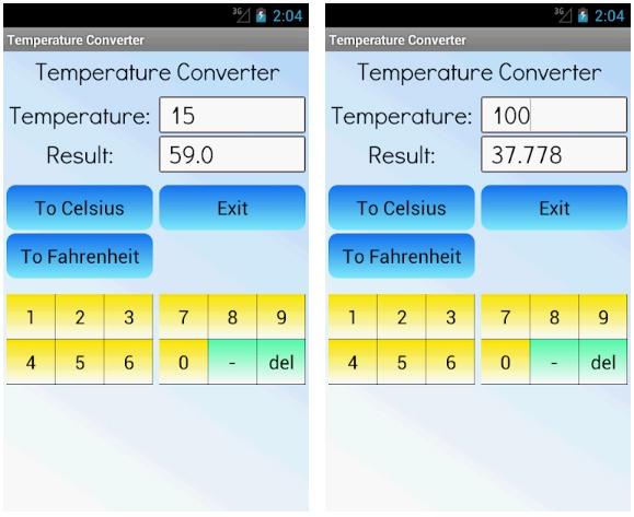 temperature converter apps free week 28