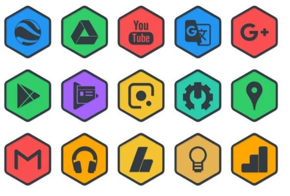 hexa dark icon pack free apps of the week