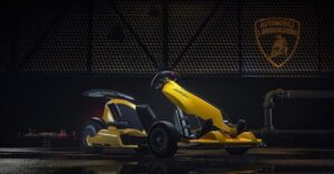 A Lamborghini Edition electric kart is presented for 1,235 euros!