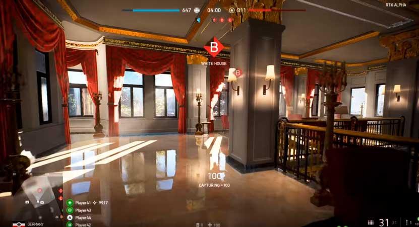 Battlefield V Ray Tracing