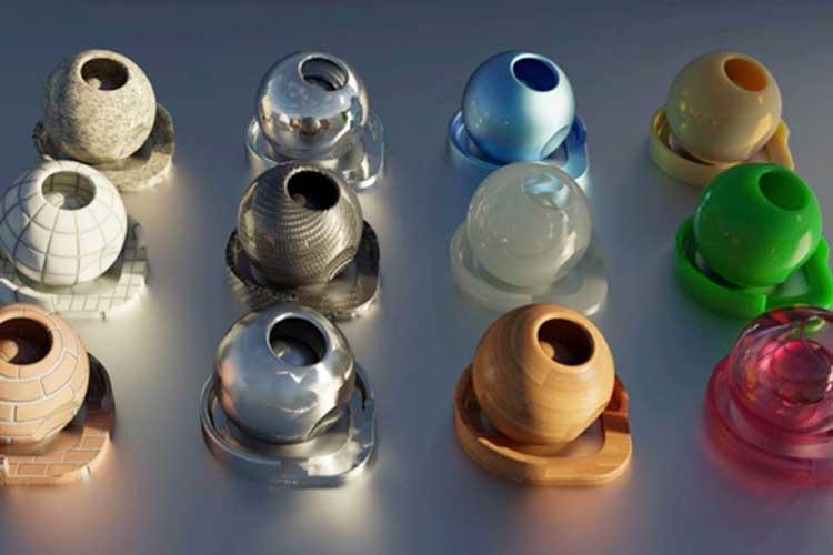 Light in materials