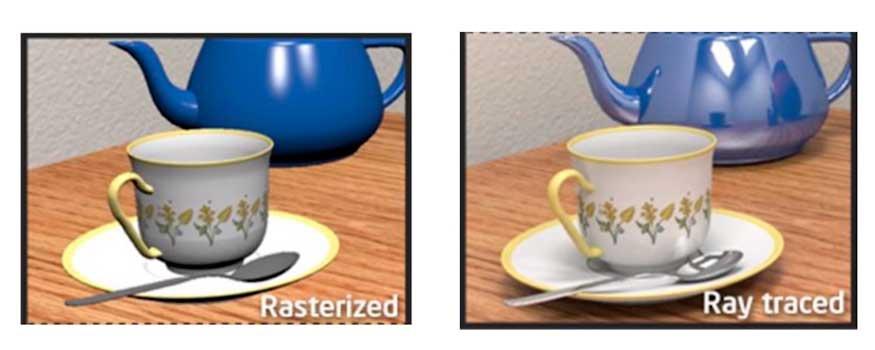 Raster vs Ray Tracing