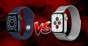 Apple Watch Series 6 vs Series 5: technical comparison