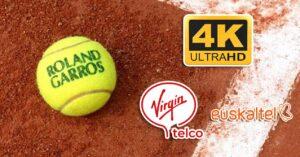 Eurosport 4K, free on Virgin and Euskaltel to see Roland…