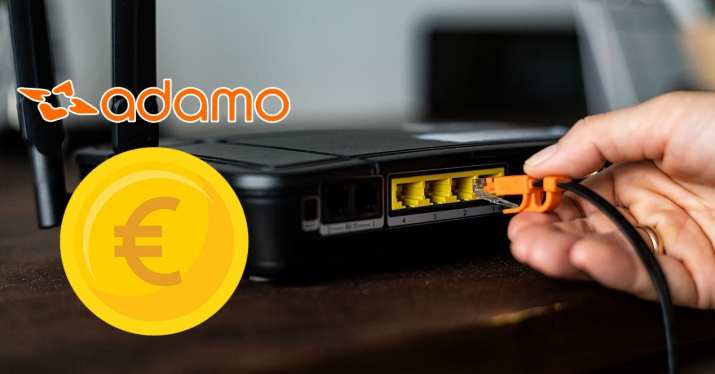 router with euro and adamo logo