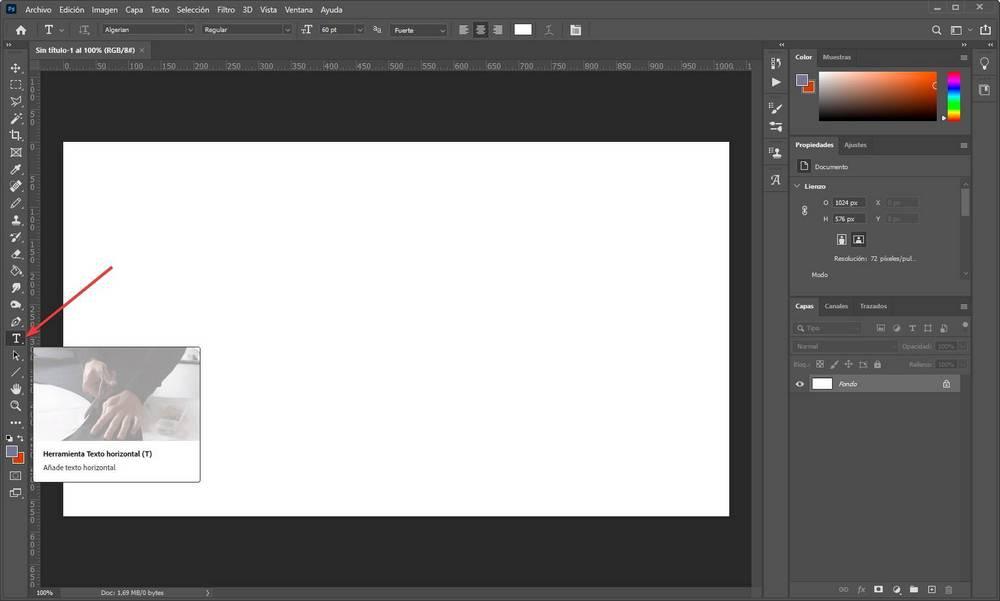 Photoshop - Texturing Text - 1
