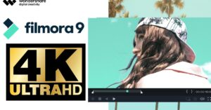 How to compress a 4K video with Filmora9 and send…