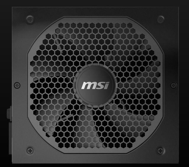 MSI MPG GF power supplies