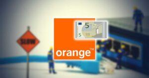 Orange returns 5 euros for the Internet crash of August…