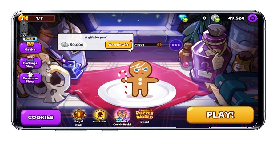 Cookie Run Start Menu: OvenBreak