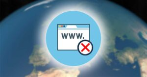 Web domains prohibited in Spain by the Government: .eu