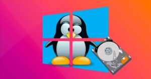 Windows 10 allows mounting and using hard drives on Linux…