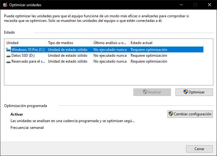 SSD defragmentation