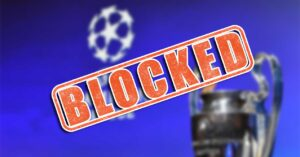 UEFA will make it more difficult to watch the Champions…