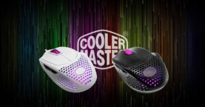 Cooler Master shows the world's lightest mouse at just 49g