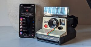 How to change the Instagram icon for the old Polaroid