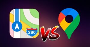 Google Maps or Apple Maps: differences, reliability