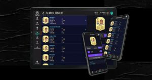 FUT transfers and buy packs from your mobile