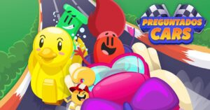 The racing game and quizzes