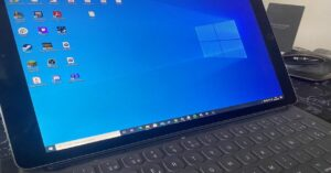 How to use Windows on an iPad in remote desktop
