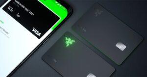 Razer's eye-catching new VISA card with light up logo