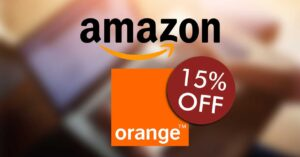 15% discounts when buying online at Amazon
