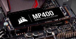 Corsair MP400, up to 8 TB PCIe 3.0 NVMe 3D…