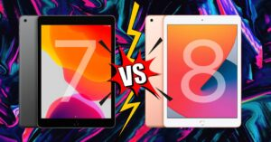 Comparison iPad 7 and iPad 8: differences and similarities