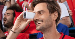 Canon PowerShot Zoom, a digital spyglass with zoom up to…