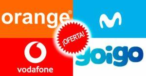 Best offers Movistar, Orange, Vodafone and Yoigo – October 2020