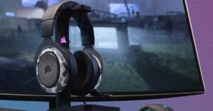 Corsair HS60 Haptic, gaming headset with haptic engine
