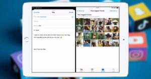 How to use split screen on an iPad for multitasking