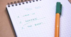 App to organize tasks with timeline
