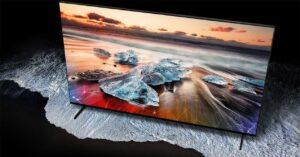 Samsung's new blue QLED: technology for Smart TV