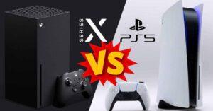 Comparison Xbox Series X vs PS5 consoles at the hardware…
