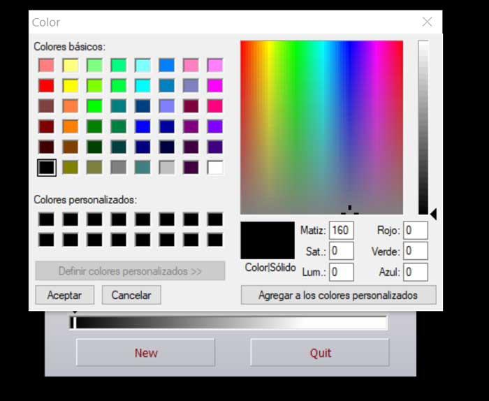 Color Converter color selection palette