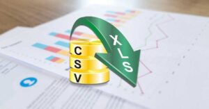 How to convert CSV files to Excel XLS files