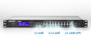 Managed Switch PoE, SFP + and Multigigabit ports
