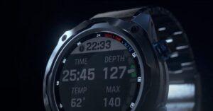 Garmin Descent MK2i, the smart watch for diving