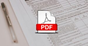 How to create a fillable form in PDF format