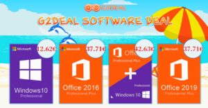 Buy cheap Windows 10 and Office 2019 licenses at G2Deal