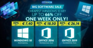 Buy cheap Windows 10 licenses for PC for only €…