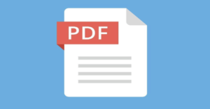 How to know the fonts used in a PD document