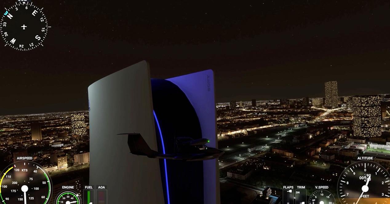 PS5 Flight Simulator